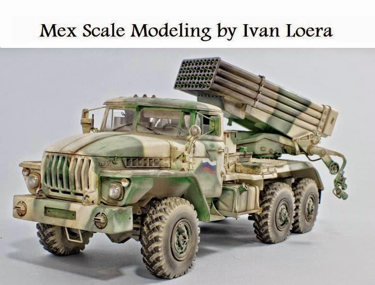 Scale Modeling by Iván Loera