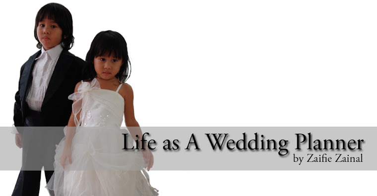 Click here for more behind the scene story Life As A Wedding Planner