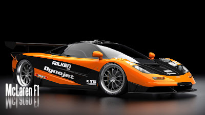 Orange Blac McLaren F1 Need For Speed - Cars Modification Wallpapers