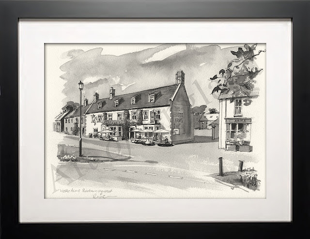 Burnham Market Norfolk drawing
