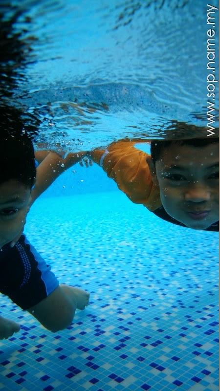 Snap gambar dalam air dengan Z3