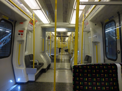 Inside a Metropolitan Train