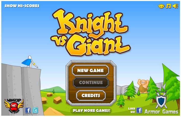 Armor Game : Knight Vs Giant