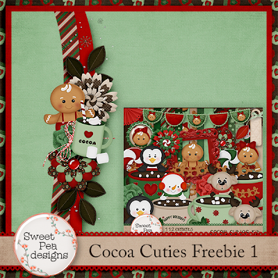 Cocoa Cuties Freebie 1 and New Release
