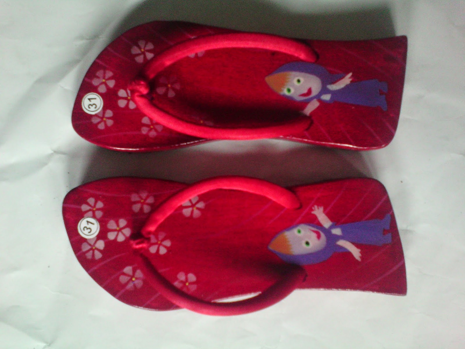 Sandal Anak Kelom Geulis Tasikmalaya