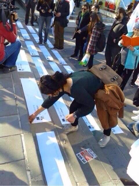 Protesta en Ankara contra el bloqueo de Twitter en Turquía