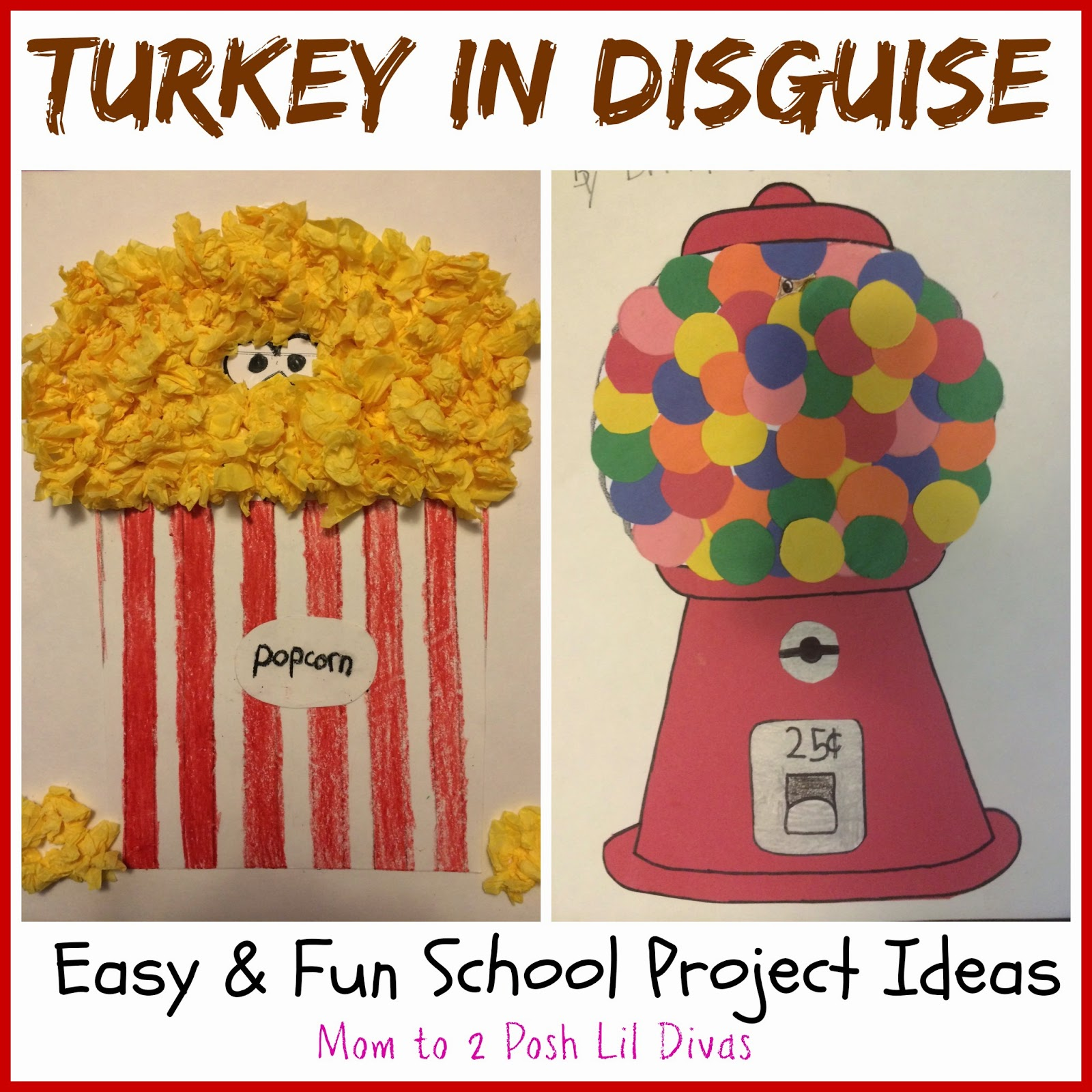 easy and fun turkey in disguise projects. Black Bedroom Furniture Sets. Home Design Ideas