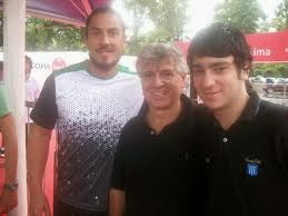Con Willy Cañas y Mati
