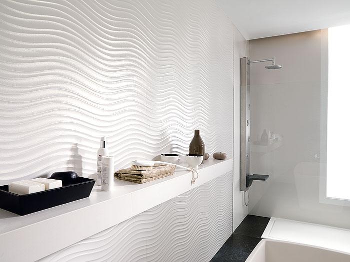 Diseno De Baños Elegantes:Modern Bathroom Wall Tile Ideas