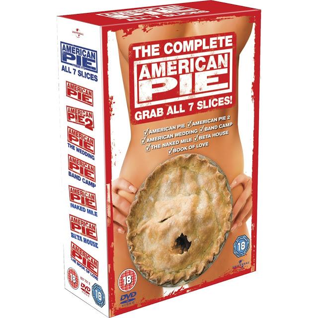 Amarican Pie 1-8 อเมริกันพาย ภาค 1-8 Master มาสเตอร์ พากย์ไทย Uncensored