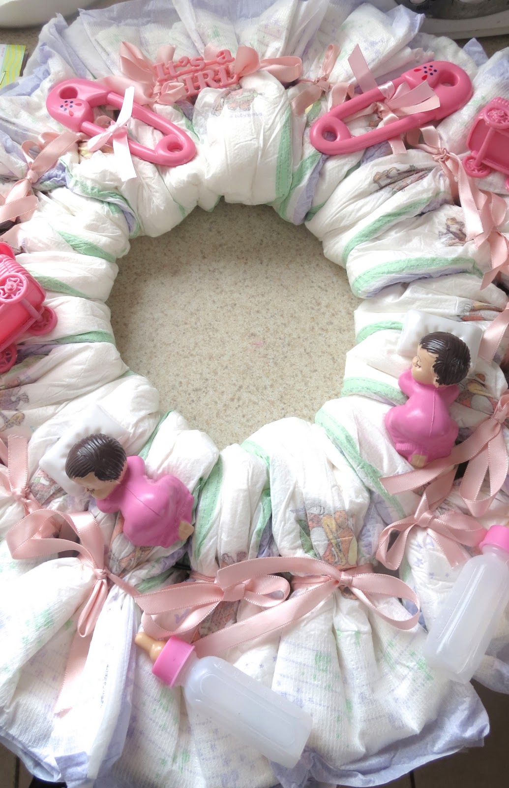 how to make a wreath for baby& 39