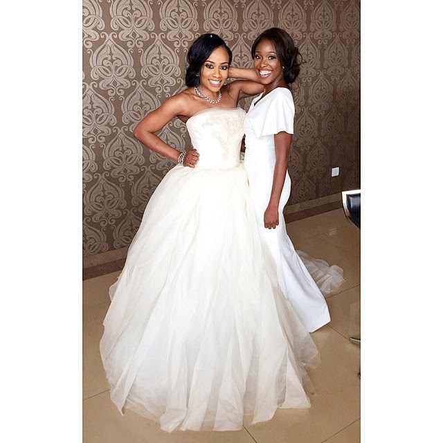 Have Yall Seen Genevieve Nnajis Look To Onyi Carters Wedding