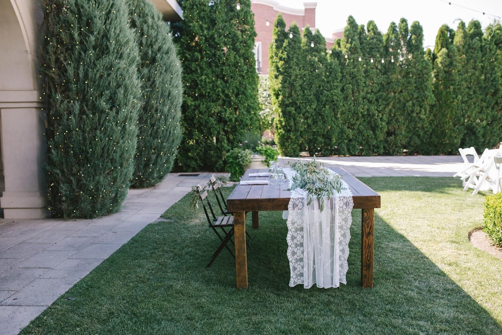 Amber Reverie Floral And Event Design Italian Inspired All White Garden Wedding