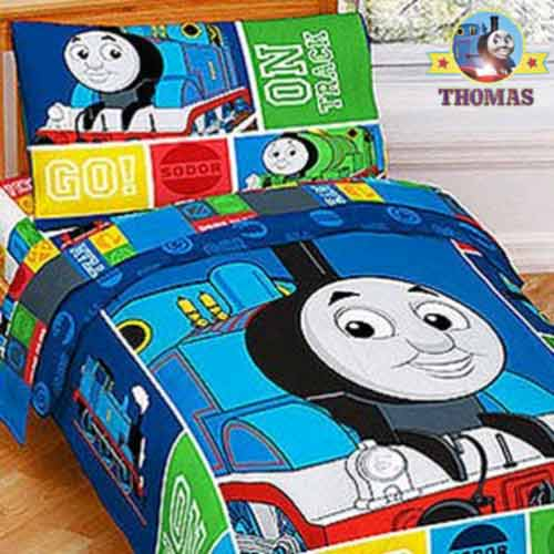 Amazing Disney merchandise cartoon character bedding sets Thomas the tank engine bedroom sheets for toddlers