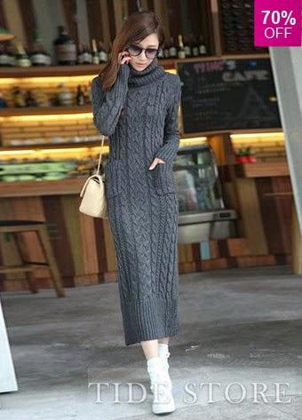 http://www.tidestore.com/product/Chic-Fancy-Long-Slim-Turtle-Collar-Hemp-Flower-Sweater-Long-Dress-10848788.html