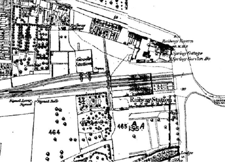 Gosport Station track plan
