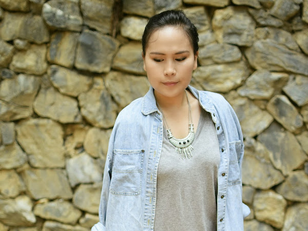 Outfit Diary: The shades of grey ( Denim and grey)