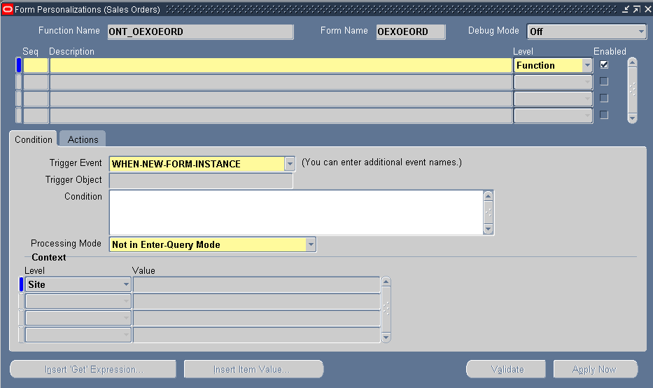 Basic Form Personalisation steps in Oracle apps | Oracle Apps ...
