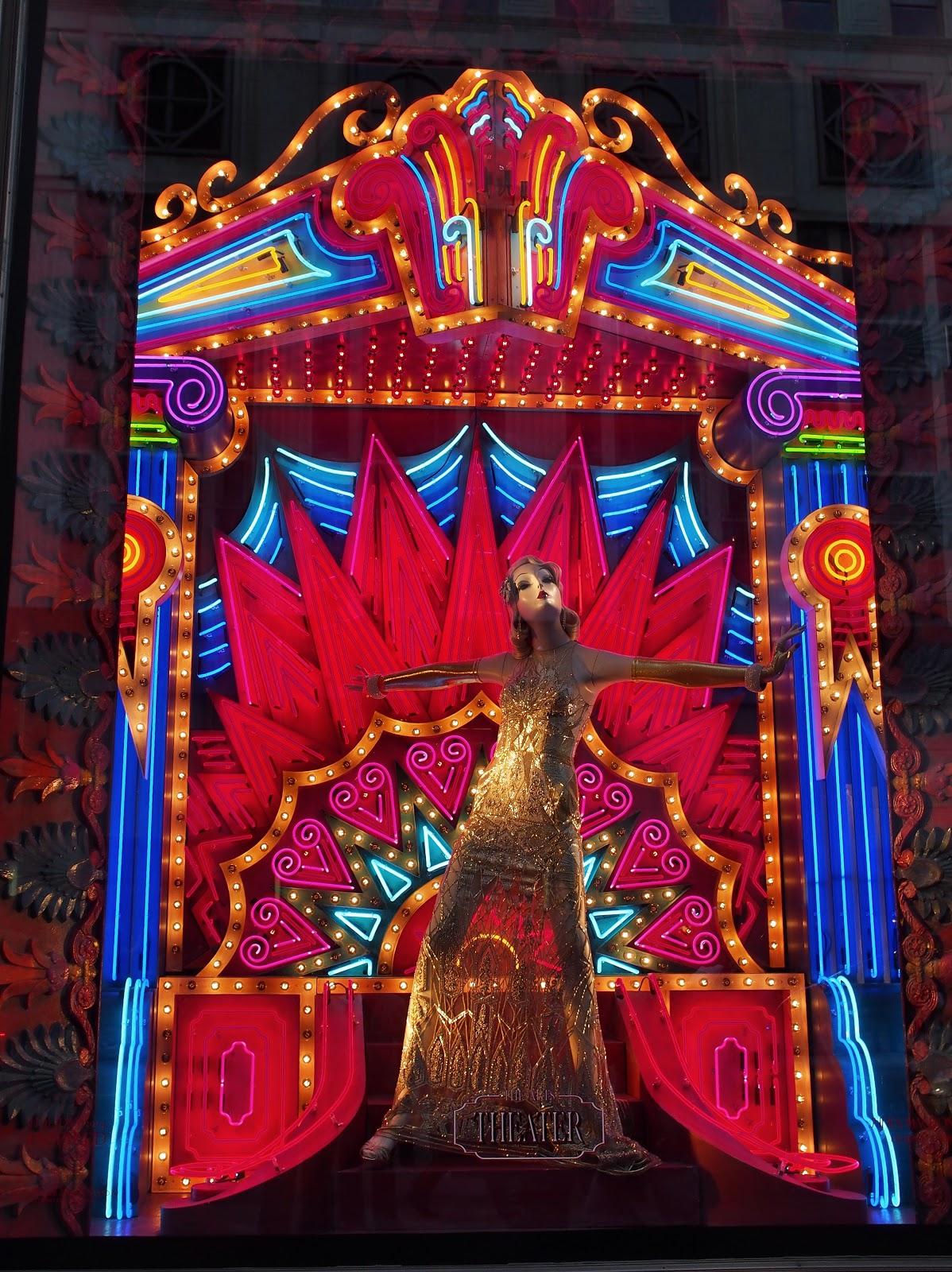 Center Stage #CenterStage  #bgwindows #holidaywindows #5thavenuewindows #NYC  #holidays #besttimeoftheyear #nyc ©2014 Nancy Lundebjerg