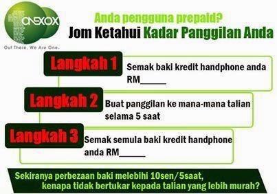 Kadar Panggilan Telco ONEXOX