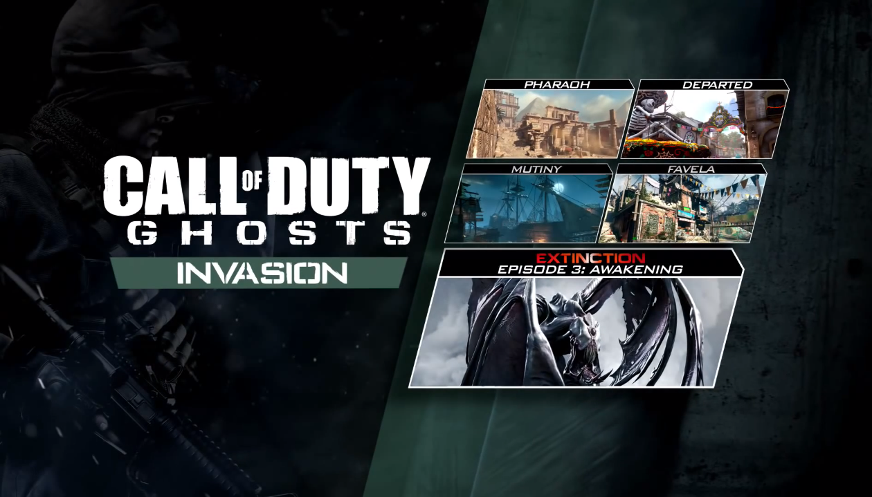 Spesifikasi PC Untuk Call Of Duty: Ghosts - Invasion (Activision)