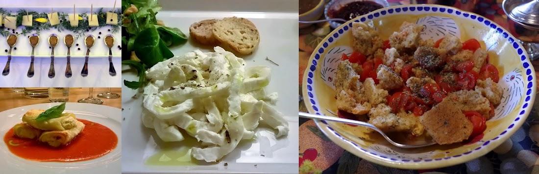 Köstlichkeiten aus dem Cilento: Acquasale, Büffelmozzarella und weiße Feigen