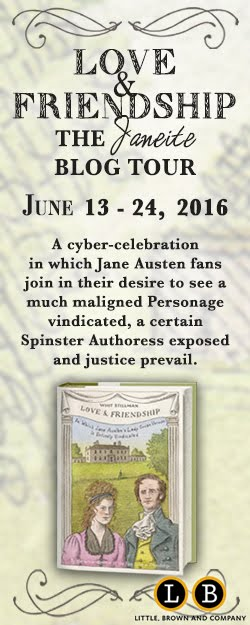 Love and Friendship Blog Tour