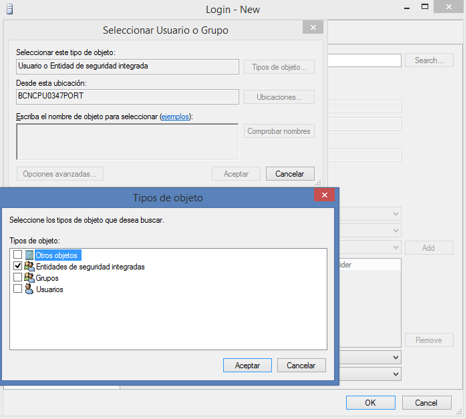 Habilitar site ASP.NET IIS para conectar a SQLExpress, figura 1