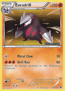 Excadrill #56/98 Emerging Powers Pokemon Card Review