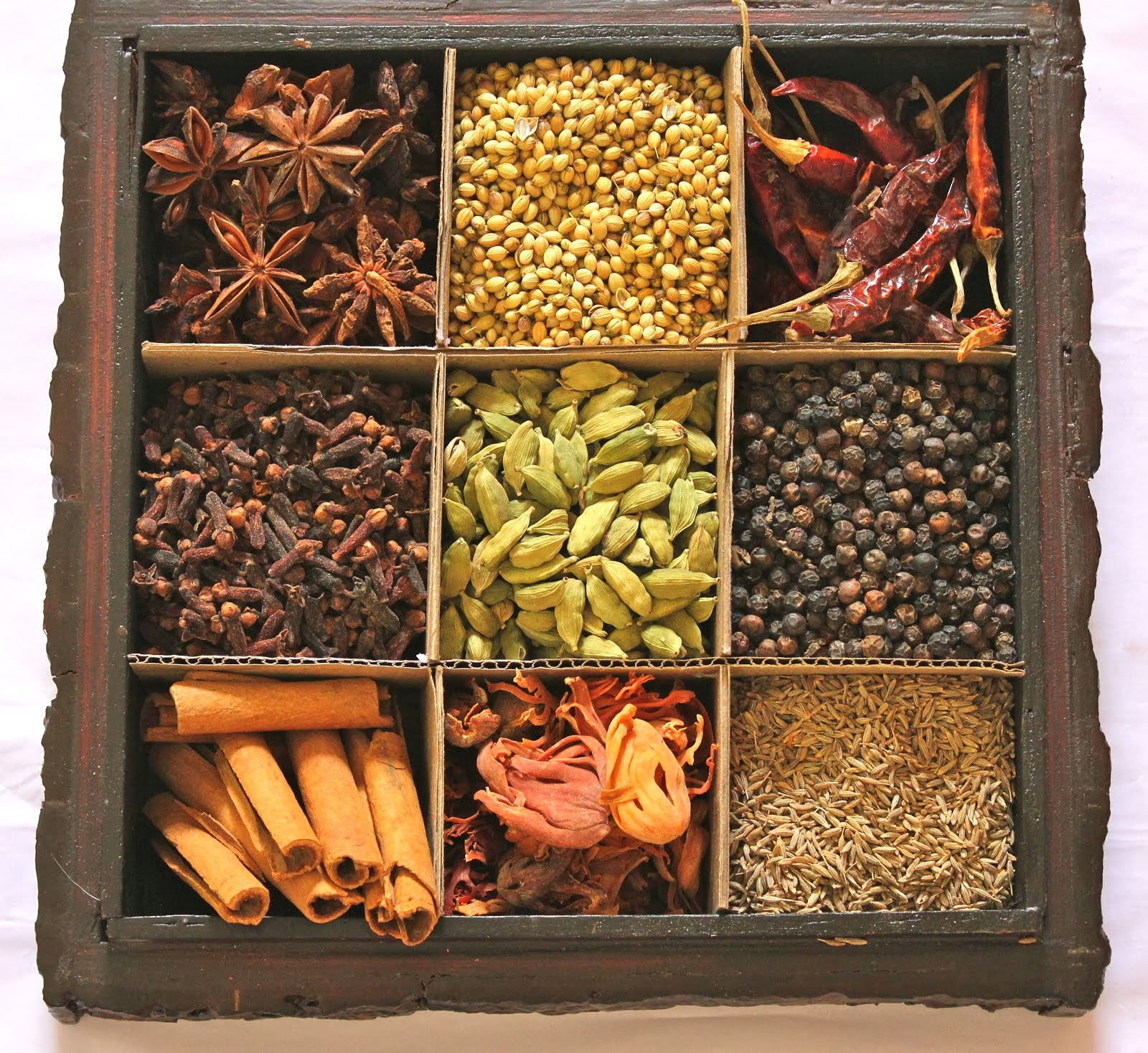 Glossary Of Whole Spices