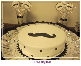 Torta con bigotes