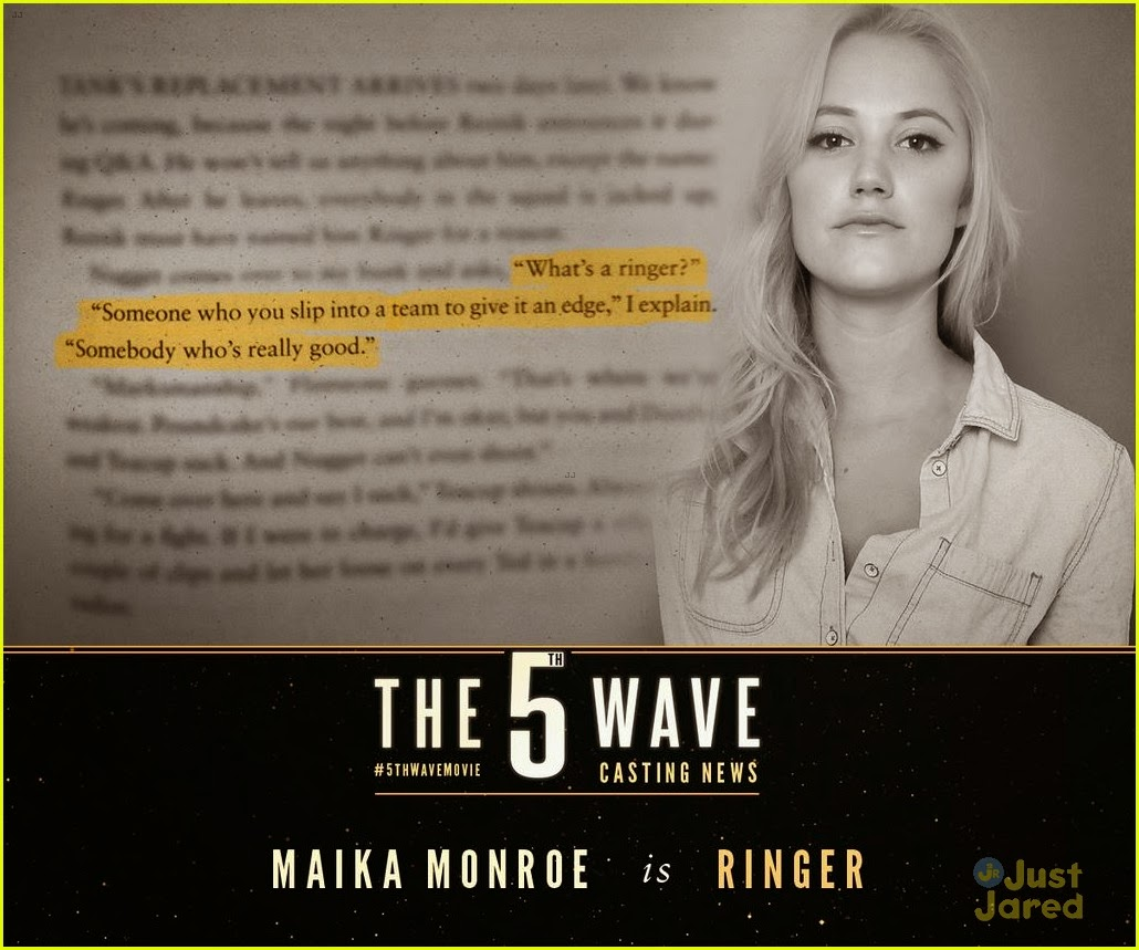 maika monroe ringer 5th wave movie