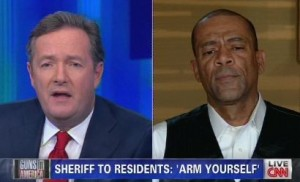 Piers Morgan Clashes With Pro-Gun Democratic Sheriff on Live TV (WATCH)