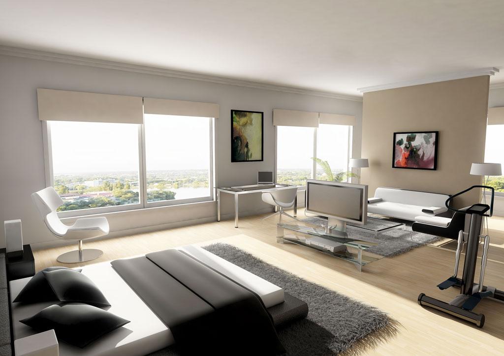 Muebles y decoraci n de interiores dormitorios modernos - Dormitorios de lujo ...