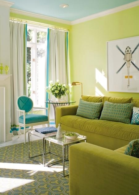 Sense And Simplicity Decorating With Green