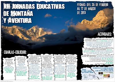XII Jornadas Educativas de Montaña y Aventura