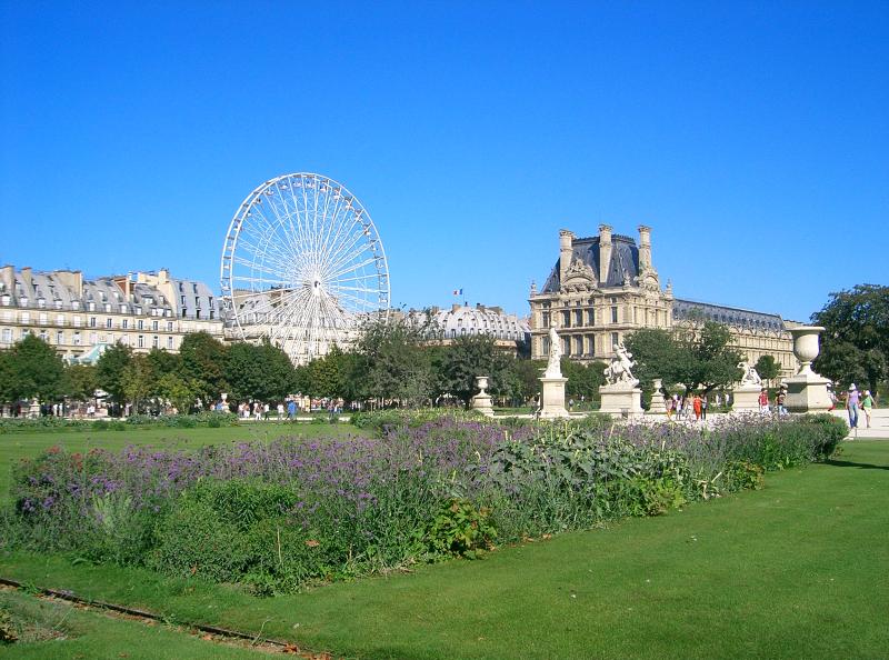 Dicas de paris o blog da paris em foco parques de paris - Jardin des tuileries restaurant ...