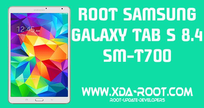 ROOT SAMSUNG GALAXY TAB S 8.4 SM-T700