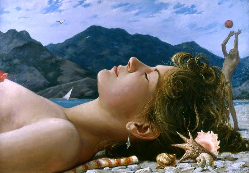 D.W.C. Fine Nude Art - Painter Igor Belkovsky