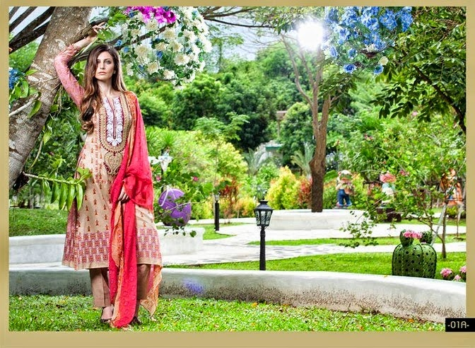 Libas Embroidered Midsummer Lawn