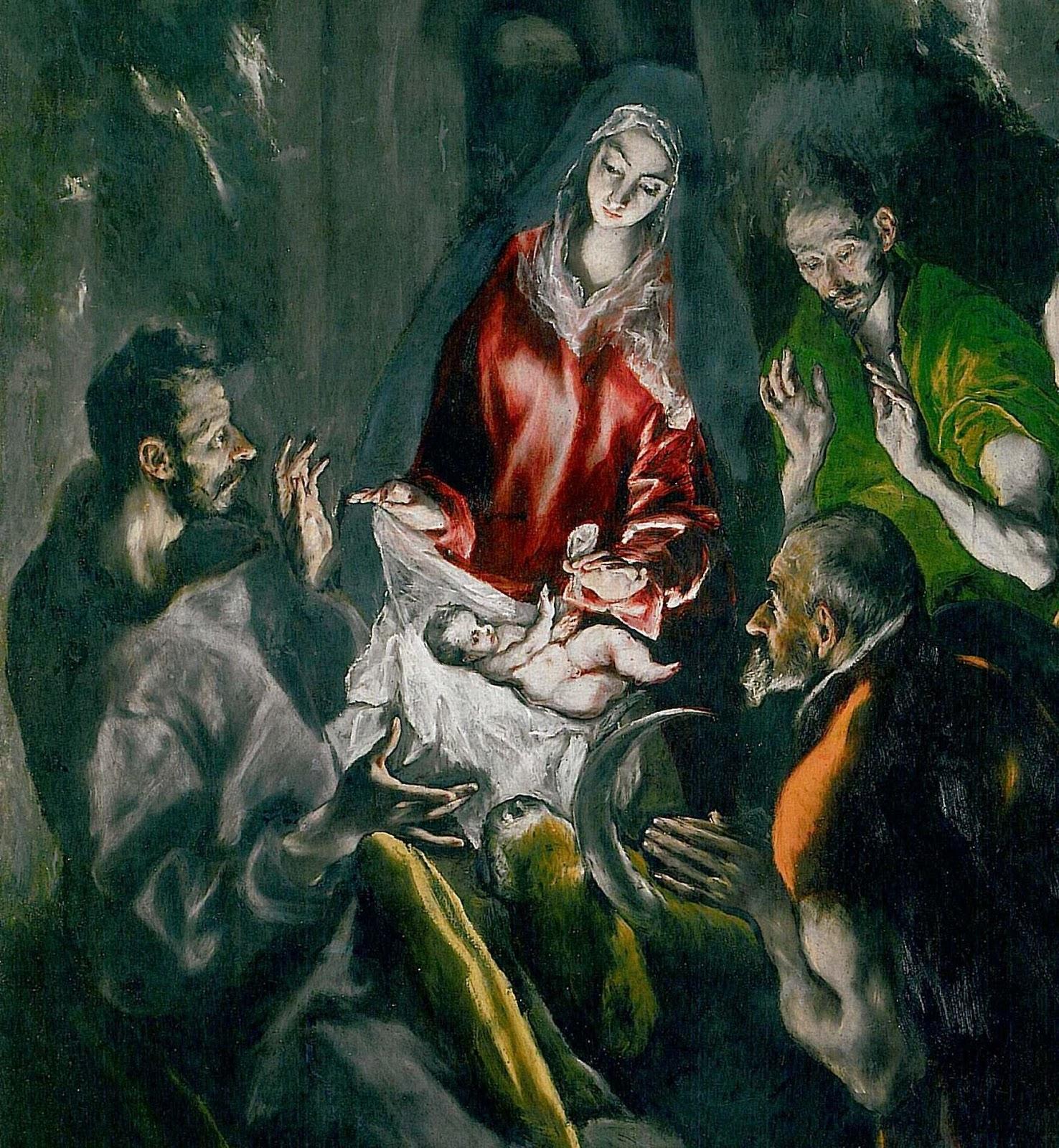 """""""Se dunque Verbo significa Dio e carne significa uomo, ... dans immagini sacre NataleElGreco"""