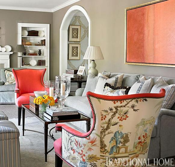 Rosa Beltran Design Designing A Lavish Chinoiserie Living