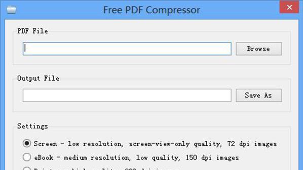 برنامج ضغط ملفات PDF - Free PDF Compressor