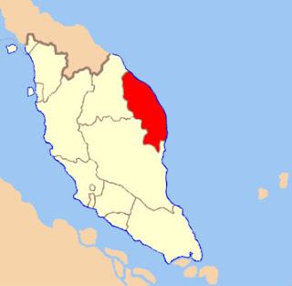 Map of Terengganu Darul Iman