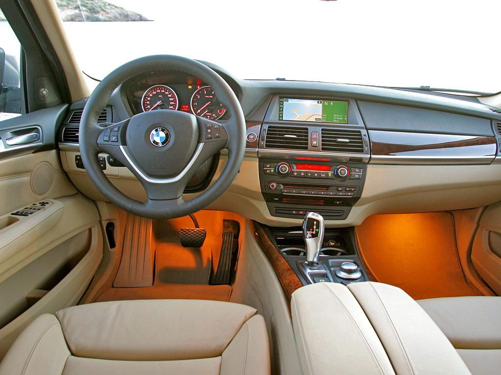 Wallpapers Cars Bmw X5 Interior