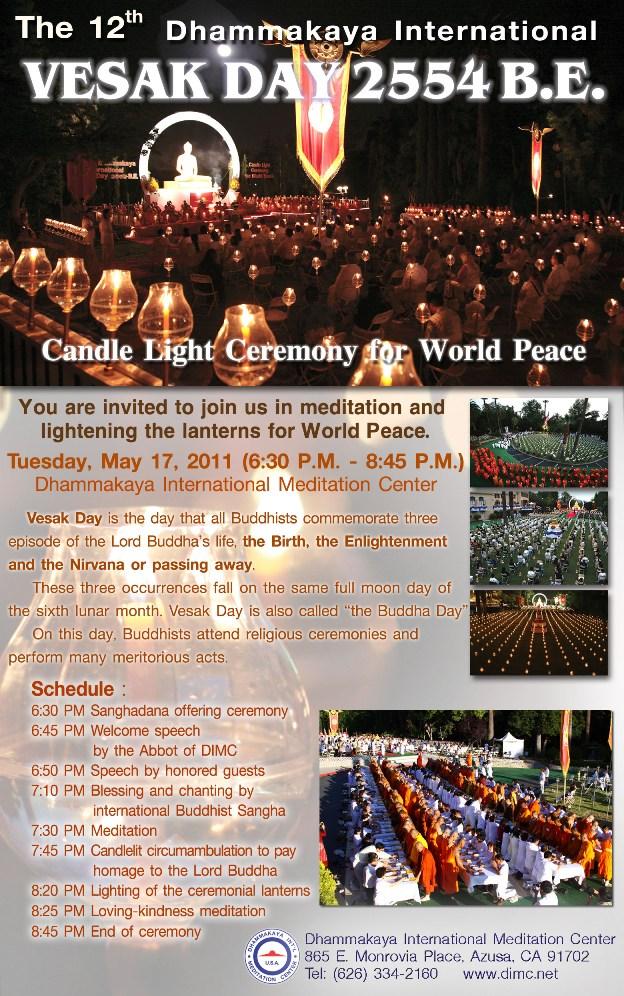 ... : American Buddhist Journal: May 17th: Vesak Day 2554 Buddhist Era