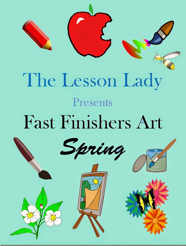 https://www.teacherspayteachers.com/Product/Creative-Thinking-Fast-Early-Finishers-Art-Activities-for-Spring-205139