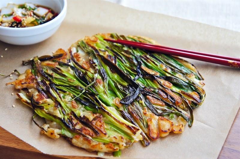 Green Onion Pancake Seasaltwithfood: Pajeo...