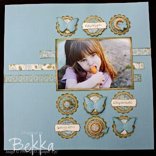 Springtime Vintage Scrapbooking Kit
