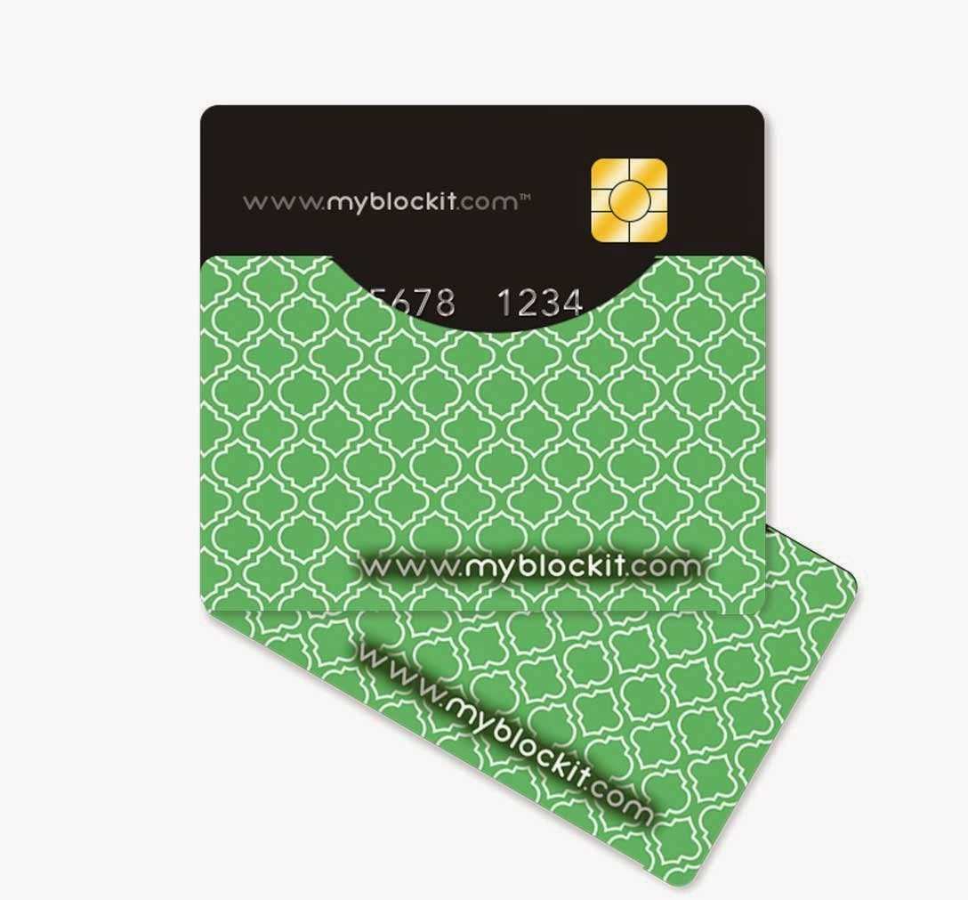 RFID Blocking Sleeves, BLOCKIT Credit Card